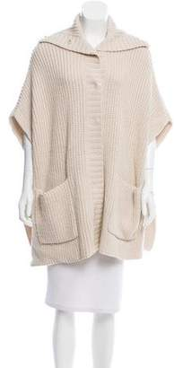 Barbara Bui Oversize Turtleneck Cardigan