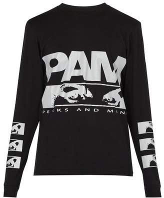 PAM P.a.maiden Cotton T Shirt - Mens - Black