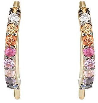 A.N.A Khouri Women's Norah Multicolor-Sapphire Earrings