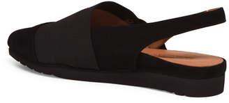 Extreme Comfort Elastic Slingback Suede Flats