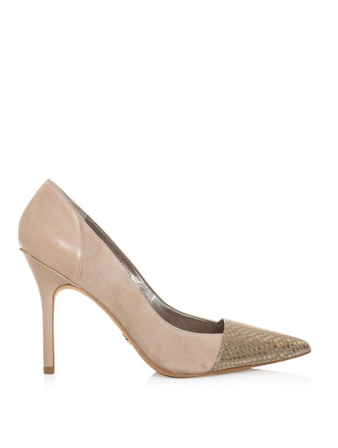 Sam Edelman Desiree suede panel pumps