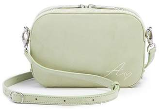 Pop & Suki Leather Camera Bag With Wide Fanny Strap