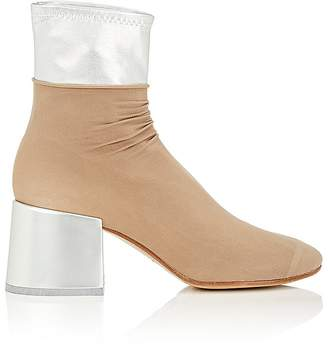 MM6 MAISON MARGIELA Women's Layered Leather Ankle Boots