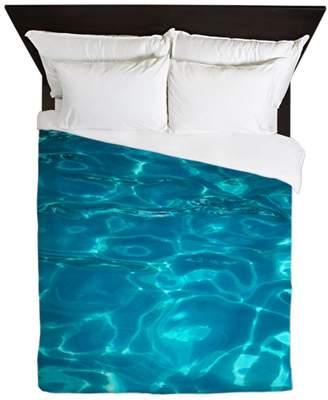 Pool' CafePress - Pool - Queen Duvet Cover, Printed Comforter Cover, Unique Bedding, Microfiber