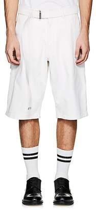 Ami Alexandre Mattiussi Men's Denim Belted Shorts