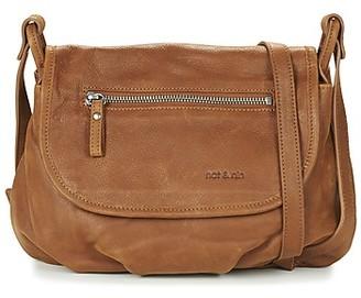 Nat & Nin JEN women's Shoulder Bag in Brown