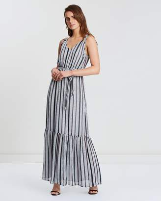 Atmos & Here ICONIC EXCLUSIVE - Stripe Maxi Dress