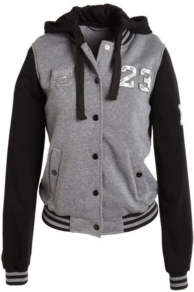 Varsity Hooded Jacket