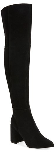 Topshop Women's Topshop Bounty Pointy Toe Over The Knee Boot