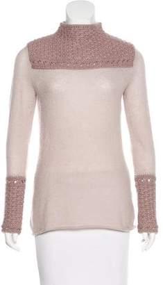 Tory Burch Alpaca & Wool Sweater