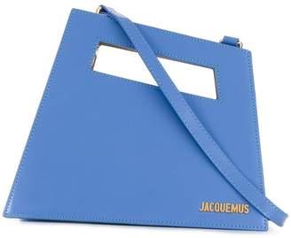 Jacquemus asymmetrical tote bag