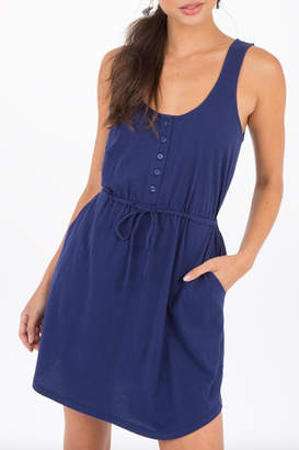 Others Follow Drawstring Pocket Dress