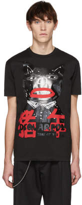 DSQUARED2 Black Pig Cool Fit T-Shirt