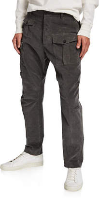DSQUARED2 Men's Corduroy Cargo Pants