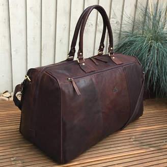 b7b20fd20a3 Buffalo David Bitton Holly Rose Luxury Large Leather Holdall