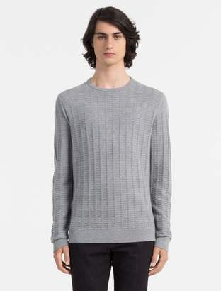 Calvin Klein slim fit sloan crewneck sweater