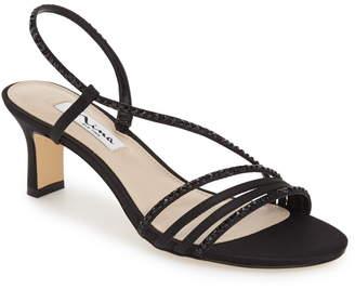 9f3157dbfc5b Nina Rhinestone Women s Sandals - ShopStyle