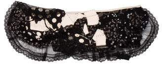 Antonio Marras Lace Embellished Collar