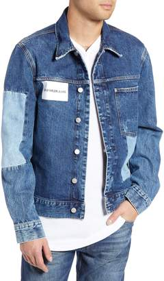 Calvin Klein Jeans Patch One-Pocket Denim Jacket