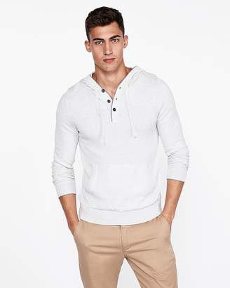 Express Henley Hooded Popover