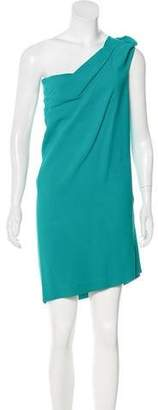 Roland Mouret One-Shoulder Mini Dress
