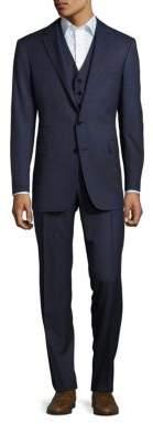 Polo Ralph LaurenNotch-Lapel Wool 3-Piece Suit