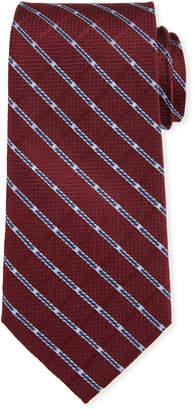Neiman Marcus Check Silk Tie
