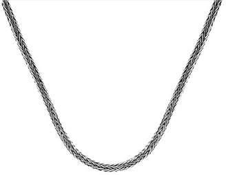 Dragon Optical DEVATA Sterling Silver Bone Chain Necklace