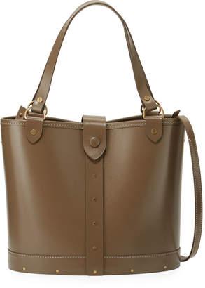 The Row Studded Calfskin Bucket Bag