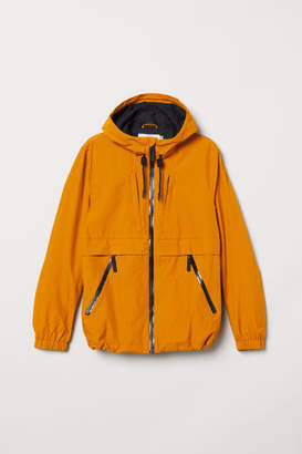 H&M Hooded Nylon Jacket - Yellow