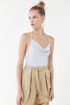 Urban Outfitters Jacki Cowl Neck Halter Top