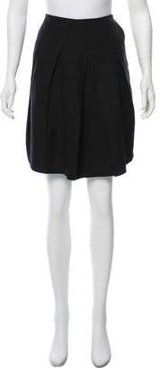Magaschoni Knee-Length Pleated Skirt