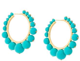Aurelie Bidermann Ana hoop earrings