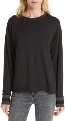 Rag & Bone JEAN Reily Split Back Top