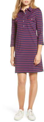 Vineyard Vines Margo Break Stripe UPF Shirtdress