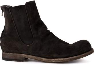 Officine Creative back zip-up boots