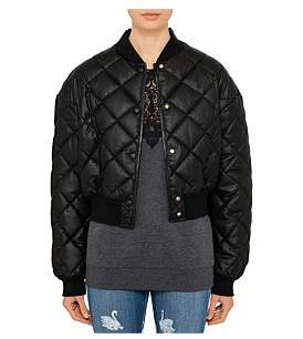 Stella McCartney Nathalie Quilted Faux Leather Jacket