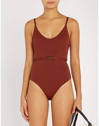Love Stories x Lucy Williams Madison scoop-neck swimsuit