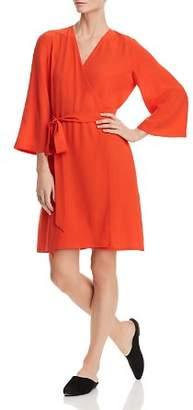 Eileen Fisher Silk Wrap Dress - 100% Exclusive