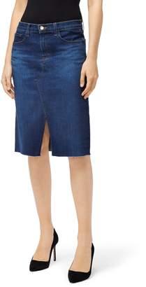 J Brand Trystan Denim Skirt