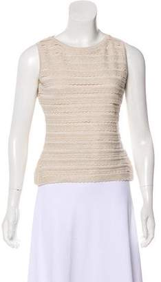 Alaia Metallic Sleeveless Top
