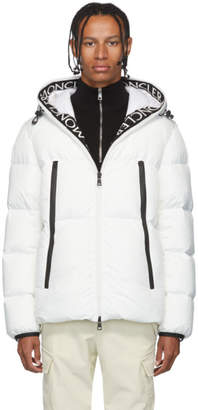 Moncler White Down Montcla Jacket