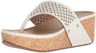 Kenneth Cole Reaction Women's Fan-Tastic Thong Platform Sandal Wedge