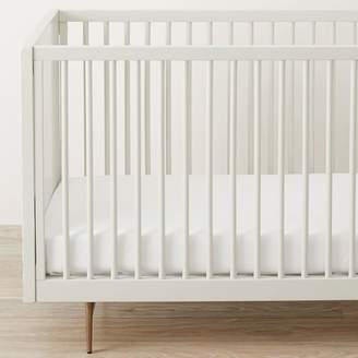 west elm Design Crew Basics Organic Cotton Crib Sheet Set - 400-Thread-Count