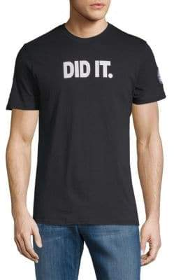 Did It Short-Sleeve Cotton Tee