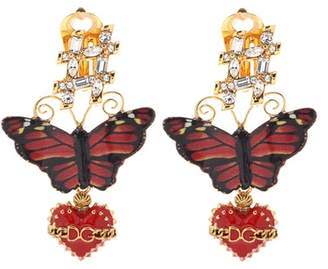 Dolce & Gabbana Butterfly earrings