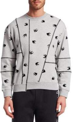 McQ Cutup Swallow Sweatshirt