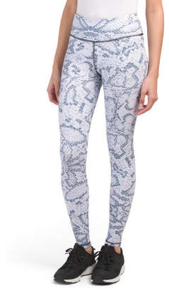 Ankle Length Snakeskin Leggings