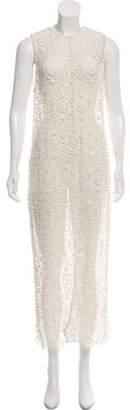 Alice + Olivia Open Knit Maxi Dress