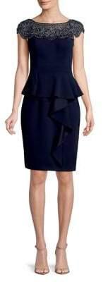 Xscape Evenings Embellished Sheath Dress